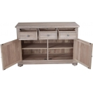SMALL SIDEBOARD WITH 2 DOORS 3 DRAWERS