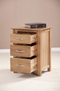 3 DRAWER HIGH BEDSIDE