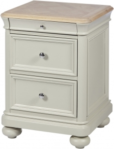 2 DRAWER BEDSIDE