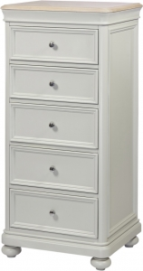 5 DRAWER WELLINGTON CHEST