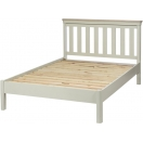 "4'6"" LOW FOOT END SLATTED BED"