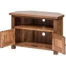CORNER TV UNIT WITH DOORS