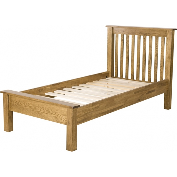 3' LOW FOOT END BED