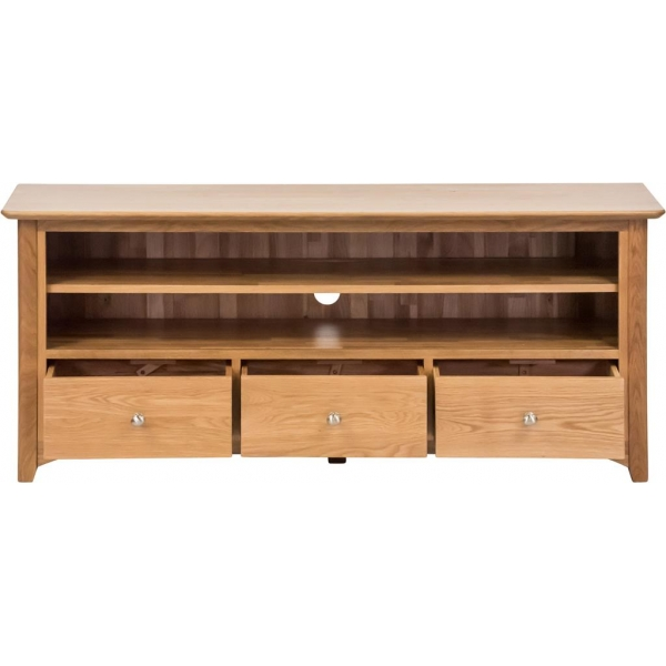 LARGE TV UNIT WITH DRAWERS