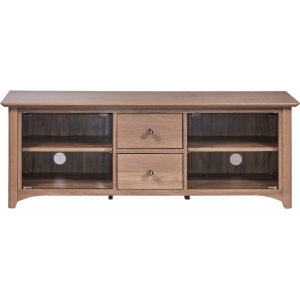 LARGE TV UNIT WITH GLASS DOORS