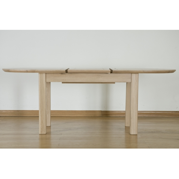 LARGE D-END EXTENDING TABLE